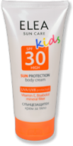 Детски слънцезащитен крем за тяло ELEA SPF 30 150 ml