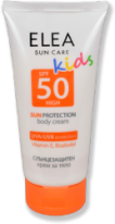 Детски слънцезащитен крем за тяло ELEA SPF 50 150мл