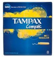 Tampax Compak Regular 8 pieces Тампони с апликатор 8 броя