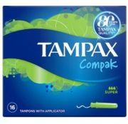 Tampax Compak Super 16 pieces Тампони с апликатор 16 броя