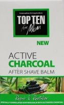 Top Ten Active Charcoal After Shave Balm 100 ml