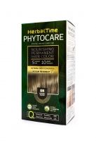 HERBAL TIME PHYTOCARE Боя за коса 8N НАТУРАЛНО РУС
