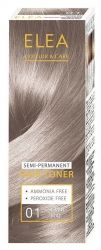 ELEA Colour & Care Hair Toner Silver Mat № 01