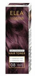 ELEA Colour & Care Hair Toner Violet № 08