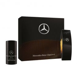 Mercedes - Benz Club Black SET комплект For Men EDT 100 ml + Deodorant Stick 75 ml