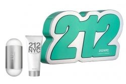 212 NYC Carolina Herrera set комплект EDT 60ml + Body Lotion 75 ml