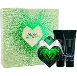 Thierry  Mugler Aura  set комплект eau de parfum 30ml + body lotion 50 ml + shower milk 50 ml