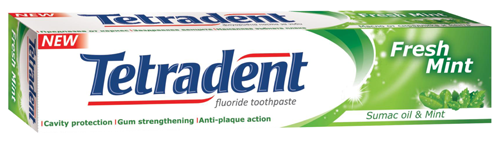 TETRADENT FRESH MINT Паста за зъби 75мл