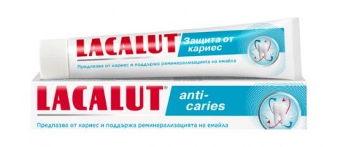 Lacalut Anti - Caries Паста за зъби 75 мл