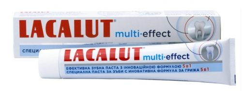 Lacalut Multi - Effect Паста за зъби 75 мл