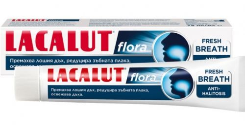 Lacalut Flora Fresh Breath Паста за зъби 75 мл