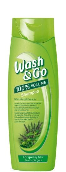 Wash&Go Herbal Fresh Шампоан за мазна коса 400мл