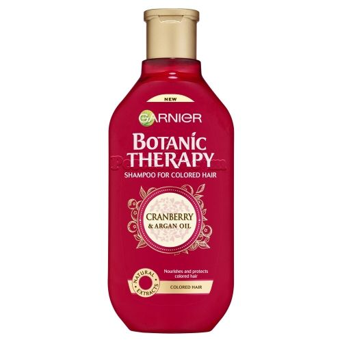 Garnier Botanic Therapy Shampoo  Cranbery  & Argan Oil 250 ml Шампоан за боядисана коса