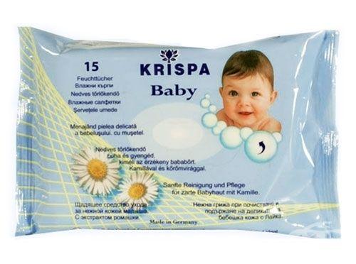 Влажни кърпи Бебе Криспа 15 бр.