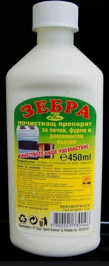 ЗГУРА ПРЕПАРАТ ЗЕБРА ЗА ПЕЧКИ 450МЛ.