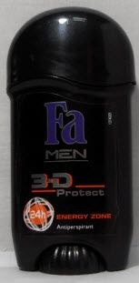 Fa MEN 3-D PROTECT ENERGY ZONE 24h/СТИК ДЕЗОДОРАНТ/ 50мл