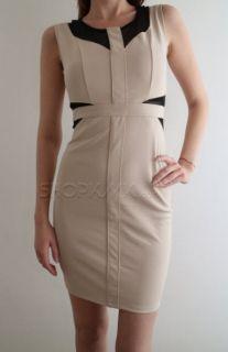 Дамска бежова рокля KIMI&CO PARIS KLC009