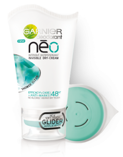 Garnier Deodorant Neo Shower Clean Сух дезодорант 48h 40мл