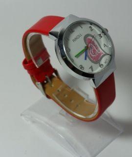 Часовник Aikoll /Цвят:корал,червен/