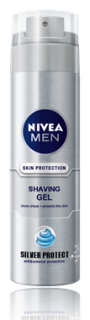 NIVEA ГЕЛ ЗА БРЪСНЕНЕ 200мл + After Shave Lotion 100ml  SILVER PROTECT