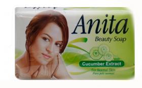 ANITA BEAUTY SOAP CUCUMBER EXTRACT/С ЕКСТРАКТ ОТ КРАСТАВИЦА/ САПУН 80гр