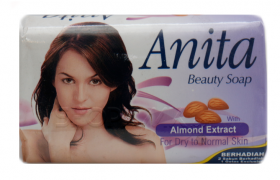ANITA BEAUTY SOAP ALMOND EXTRACT/С ЕКСТРАКТ ОТ БАДЕМ/ САПУН 80гр