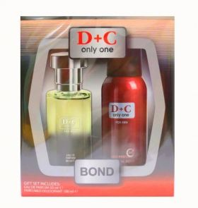 Lucky КОМПЛЕКТ  D & C ONLY ONE  edt 50 ml + deo 100 ml. MEN