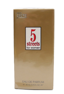 Lucky  5 STREETS EDT   ДАМСКА 30 ml
