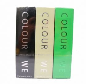 COLOUR WE MEN  BLACK,SILVER,GREEN ЗА МЪЖЕ 50ml