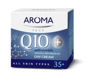 Aroma Q10+ Дневен крем 50мл