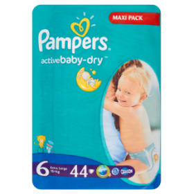 Pampers Active Baby-Dry 6 15+kg 42бр.