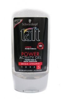 TAFT POWER ACTIVITY GEL MEGA STRONG ГЕЛ