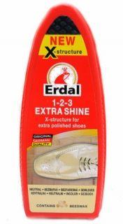 Erdal 1-2-3 Extra Shine Гъба безцветен гланц за обувки