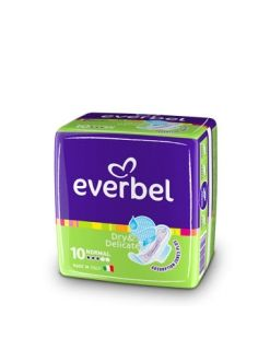 Everbel Dry & Delicate Normal Дамски превръзки 10бр