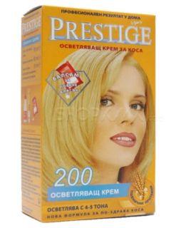 Vip's Prestige Осветляващ крем за коса №200
