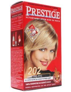 Vip's Prestige Устойчива крем-боя за коса №202 Светло рус