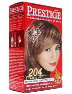 Vip's Prestige Устойчива крем-боя за коса №204 Тъмно рус