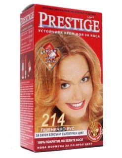 Vip's Prestige Устойчива крем-боя за коса №214 Пшенично рус