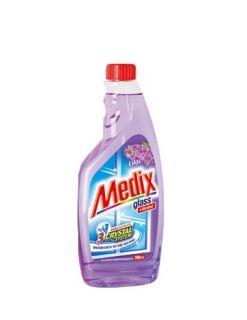 Medix Glass Lilac Препарат за стъкла (пълнител) 500 мл