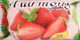 HARMONY Strawberry Extract Fruity Soap 150grm