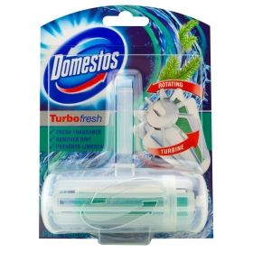 Domestos Turbo Fresh Тоалетно блокче Pine Fresh 32гр
