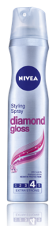 NIVEA DIAMOND GLOSS ЛАК ЗА КОСА 250ml