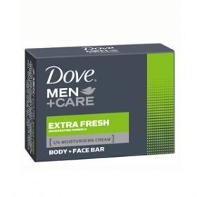 Dove Men + Care Extra Fresh сапун за лице и тяло за мъже 100гр