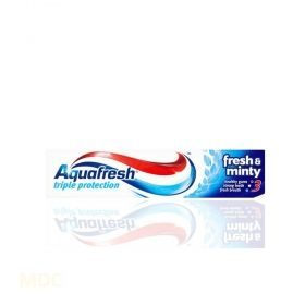 Aquafresh Triple Action Fresh & Minty  Паста за зъби 50мл