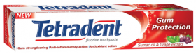 TETRADENT GUM PROTECTION ПАСТА ЗА ЗЪБИ 75мл