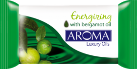 AROMA LUXURY OILS ENERGIZING САПУН 90gr