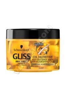 Маска за коса Gliss Oil Nutritive, 200 мл