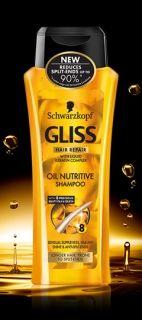Schwarzkopf Gliss OIL NUTRITIVE SHAMPOO 250ml