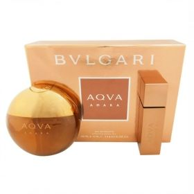 Bvlgari Aqva Amara комплект edt 100ml + 15ml set gif