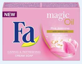 Fa Magic Oil Pink Jasmine крем сапун с микро масла и освежаващ аромат на розов жасмин.